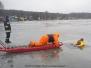 17.03.2011 - Ćwiczenia z ratownictwa lodowego