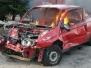 23.03.2009 - Ćwiczenia z ratownictwa drogowego KORYNT - AUTO ZŁOM  Ireneusza Koryckiego z Nieżychowic