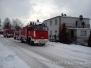 26.01.2014 - Pożar sadzy w kominie Charzykowy