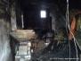 10.10.2014 Pożar budynku gospodarczego Angowice