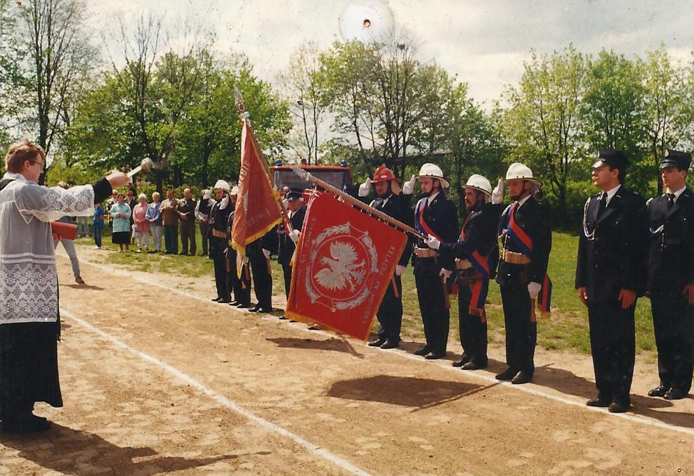 Fot. Archiwum OSP Charzykowy rok 1995