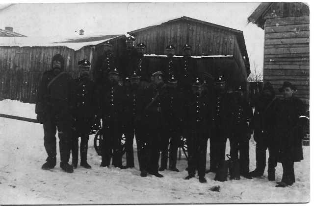 Fot. Archiwum OSP Charzykowy rok 1934