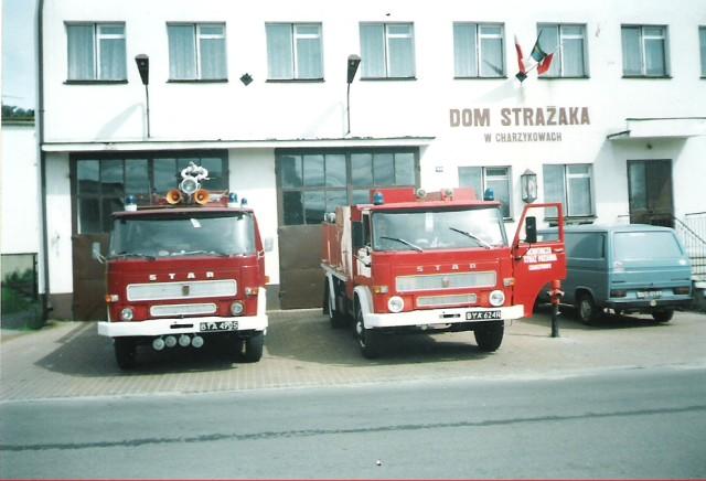 Fot. Archiwum OSP Charzykowy rok 2000